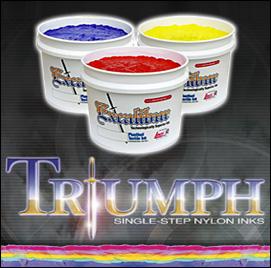Triumph®3550 Series Single-Step Nylon Inks