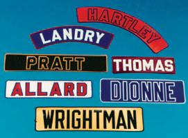 Name Bars