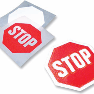 Discovery Group's Stop Sign Patch