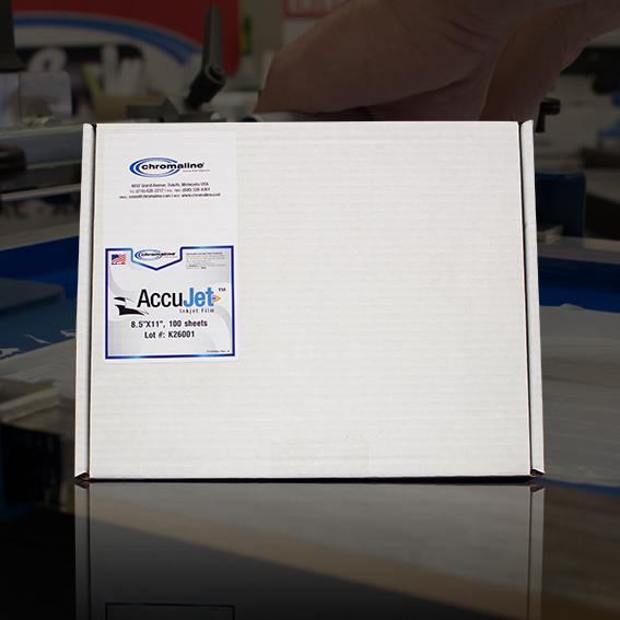 AccuJet™ Inkjet Film (Waterproof)